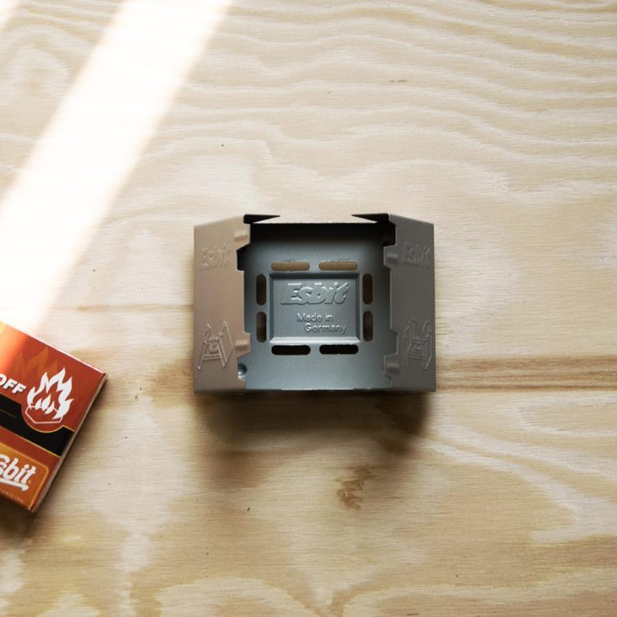 esbit エスビット ポケットストーブ コンパクト 固形燃料|ienolabo|04