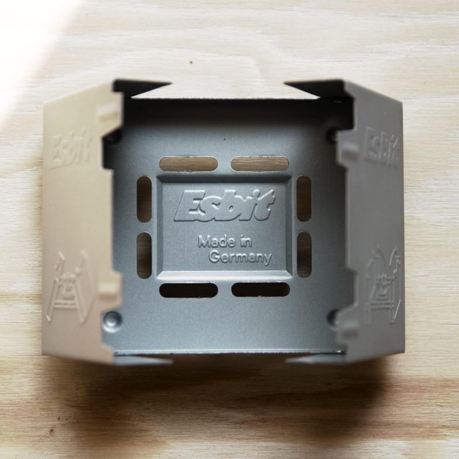 esbit エスビット ポケットストーブ コンパクト 固形燃料|ienolabo|08