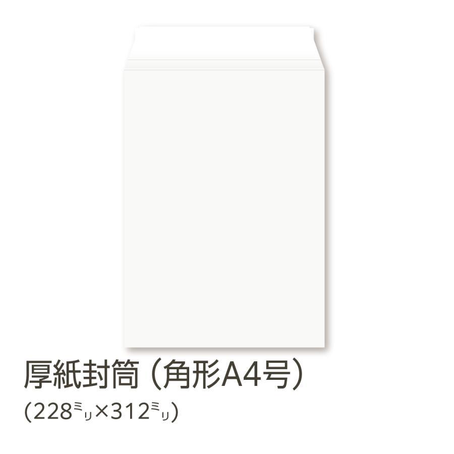 マーケット 厚紙封筒 角A4 値引き A4クリアファイルが入る 20枚入 白色 丈夫なボール紙 無地 日本製 テープ付 ポストイン発送に