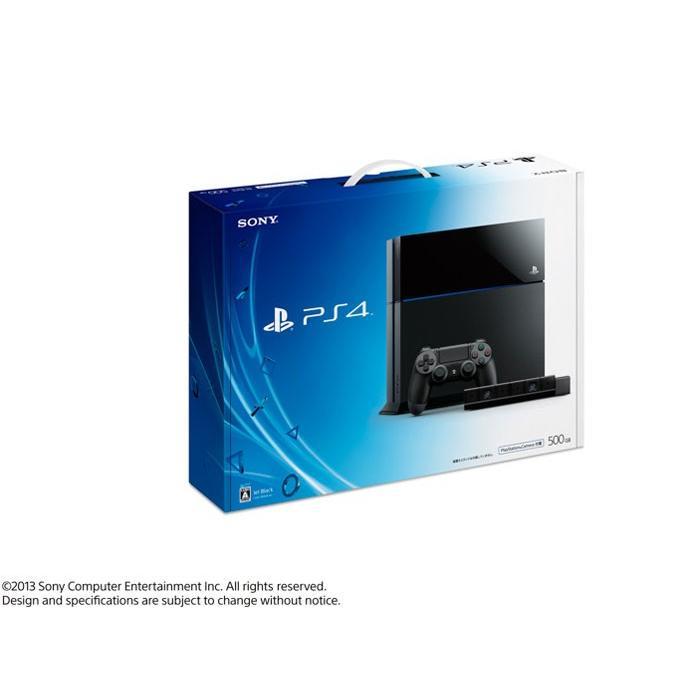 送料無料・新品・ソニー・プレイステーション4 HDD 500GB・PlayStation Camera 同梱版 ジェット・ブラック CUH-1100AA01(印付・2015年6月3日から)