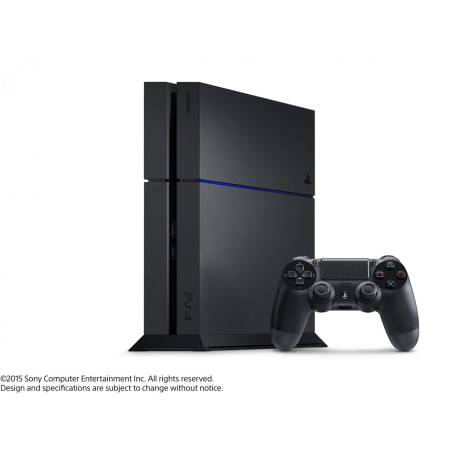 送料無料 開封新品 ソニー プレイステーション4 HDD 1TB ジェット・ブラック CUH-1200BB01(印付・2016年4月から)