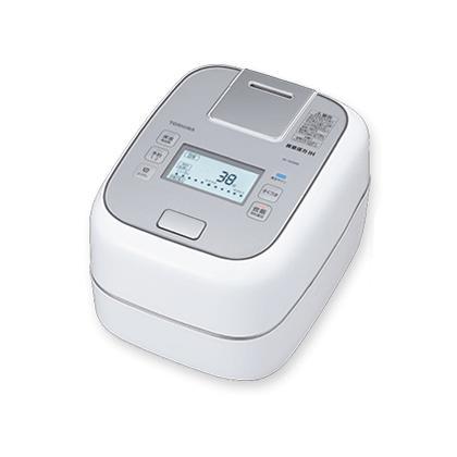 送料無料 展示品(未使用) 東芝 真空圧力IH RC-10ZWM-W [グランホワイト] 5.5 合 圧力IH炊飯器