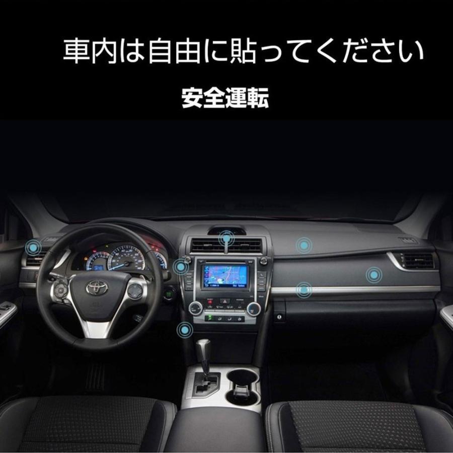 スマホホルダー 車 車載 マグネット 車載ホルダー iPhone スマホ ダッシュボード Android スマホスタンド 磁石 携帯ホルダー|igenso|09