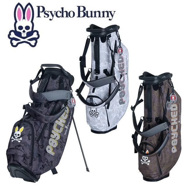 PsychoBunny サイコバニー キャディバッグ PSYCHED カモ スタンドバッグ PBMG9FC6 2019年秋冬モデル