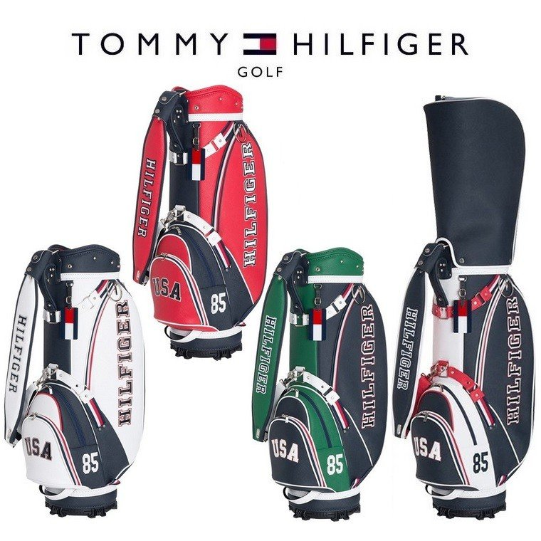 トミー ヒルフィガー ゴルフ TOMMY HILFIGER GOLF ロイヤルアメリカン キャディバッグ THMG8SC5