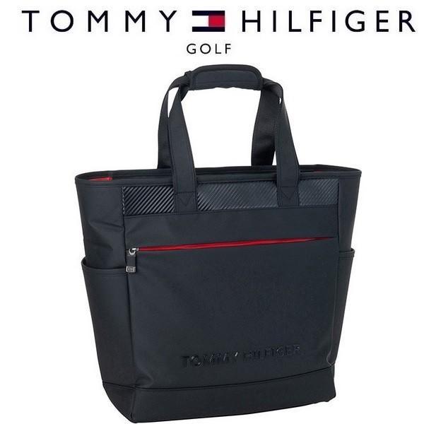 トミー ヒルフィガー ゴルフ TOMMY HILFIGER GOLF CARBON TONE TOTE BAG トート バック THMG9FB1 2019年モデル