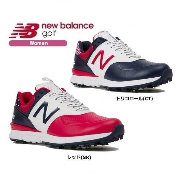 レディース ニューバランス ゴルフシューズ ソフトスパイク 紐タイプ WG574 V2 New Balance Golf 日本正規品 2019年秋冬モデル