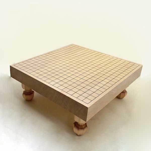 碁盤 新かや2寸接合足付碁盤 松(送料無料)
