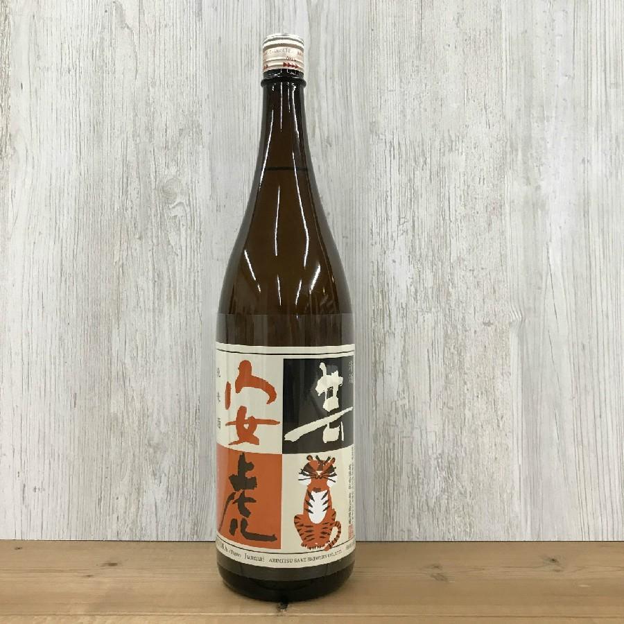 日本酒 高知 安芸虎 純米 1800ml (燗酒特集)|igossou-sakaya