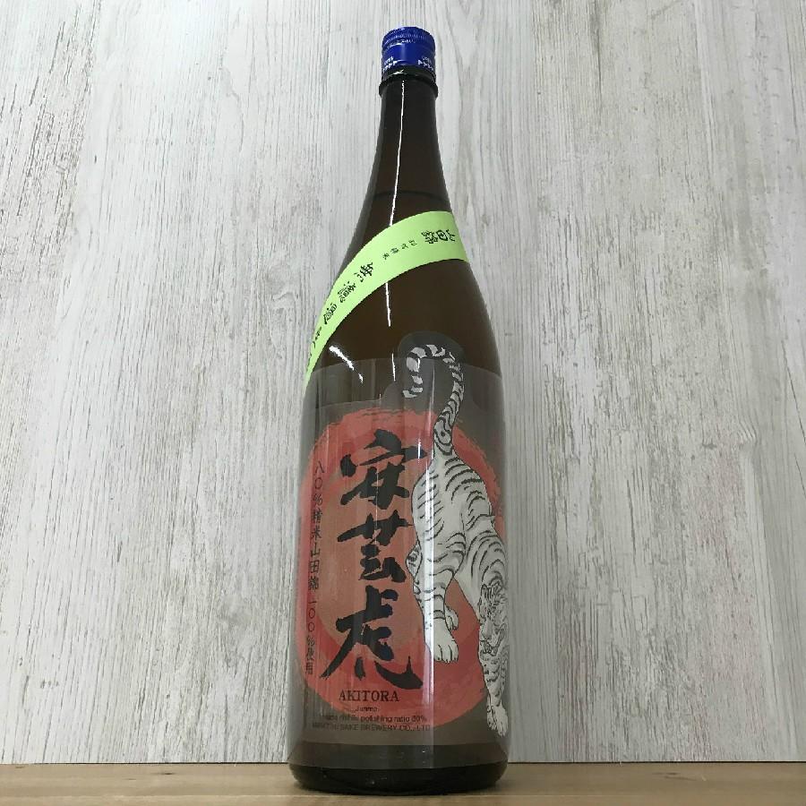 日本酒 高知 安芸虎 山田錦80% 純米 無濾過生酒 1800ml (新特) igossou-sakaya 04