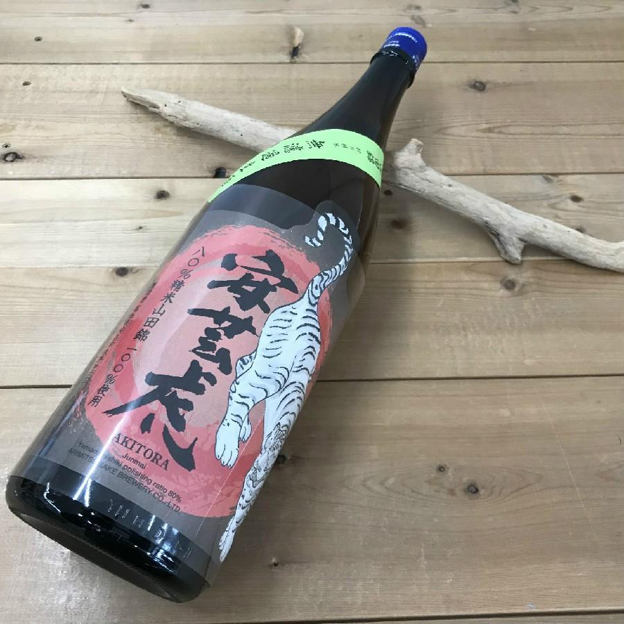 日本酒 高知 安芸虎 山田錦80% 純米 無濾過生酒 1800ml (新特) igossou-sakaya 08