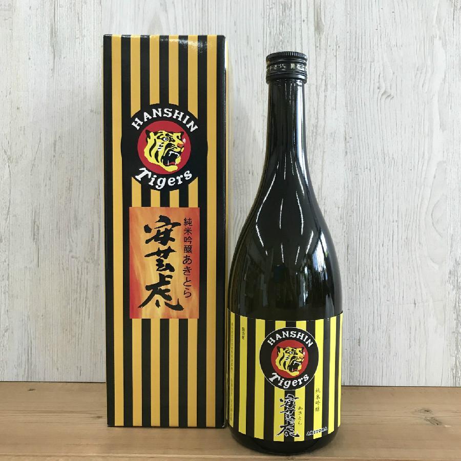 日本酒 高知 安芸虎 純米吟醸 タイガースラベル 720ml (お歳 暮 冬ギフト お年賀)|igossou-sakaya