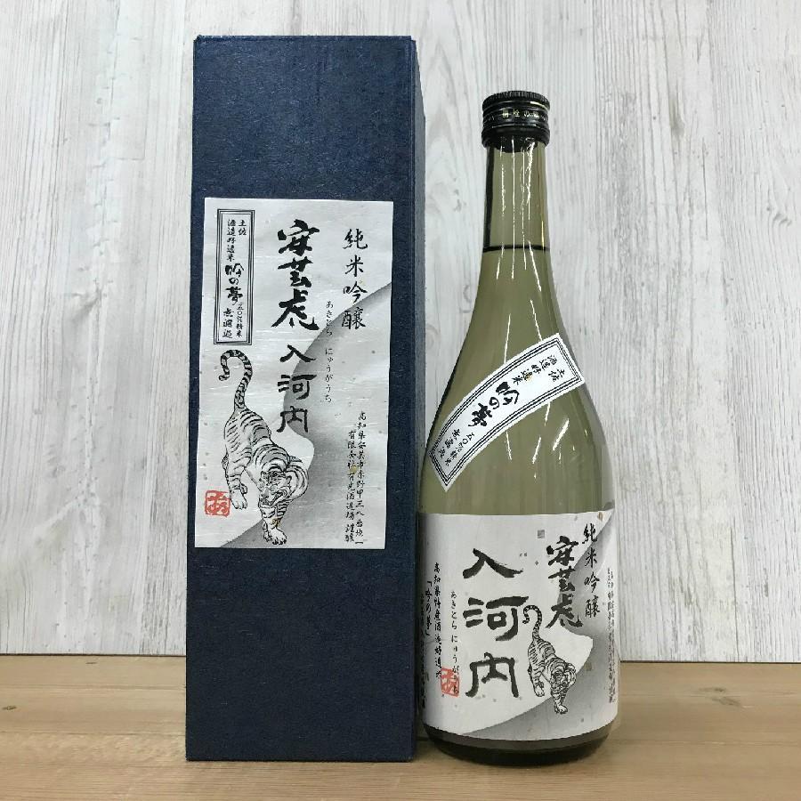 日本酒 高知 安芸虎 純米吟醸 入河内 無濾過  720ml (父の日)|igossou-sakaya|05