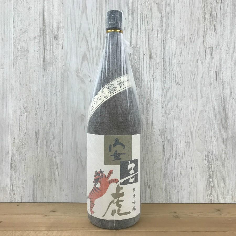 日本酒 高知 安芸虎 ひやおろし 千本錦 純米吟醸 1800ml(ひやおろし・秋あがり)  igossou-sakaya 02