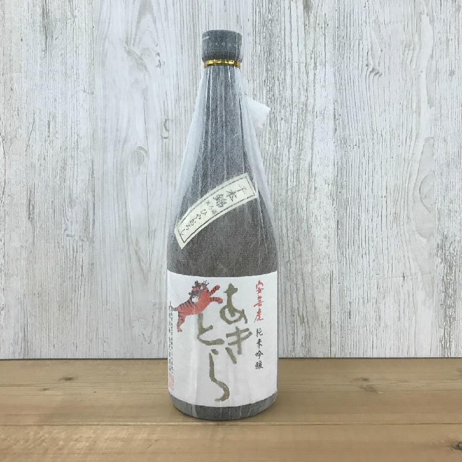 日本酒 高知 安芸虎 ひやおろし 千本錦 純米吟醸 720ml(ひやおろし・秋あがり)   igossou-sakaya 02