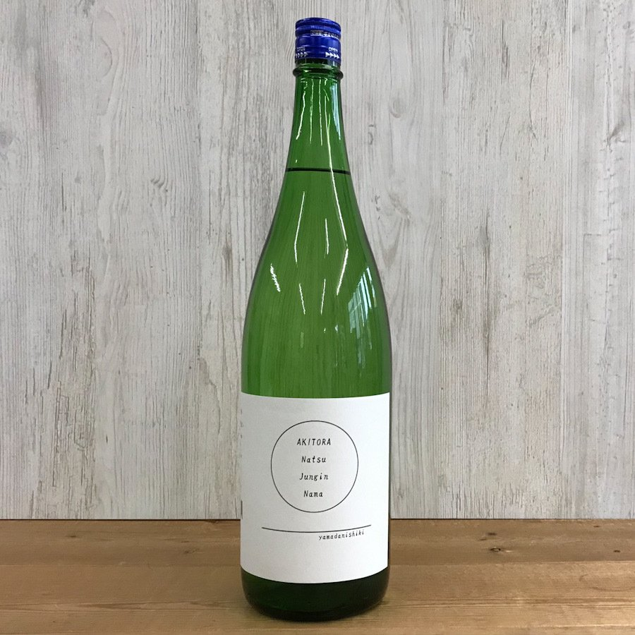 日本酒 高知 安芸虎 夏純吟 無濾過生酒 1800ml (summer)|igossou-sakaya|02