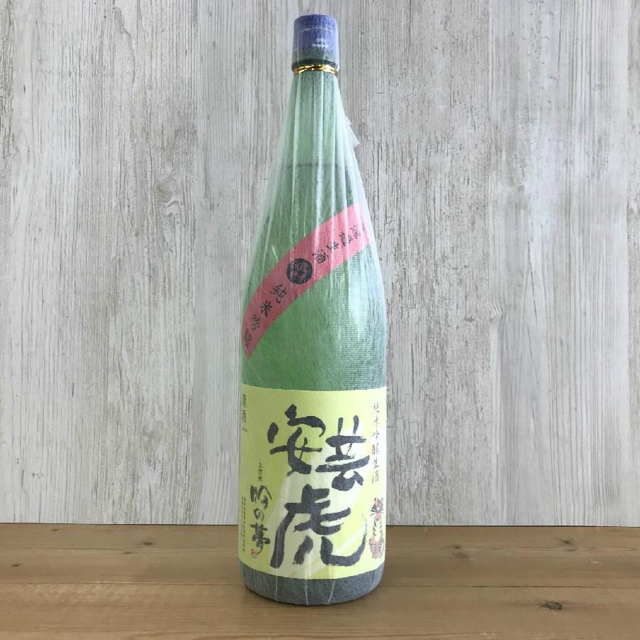 日本酒 高知 安芸虎 純米吟醸 吟の夢 無濾過生酒 1800ml (新特)|igossou-sakaya|01