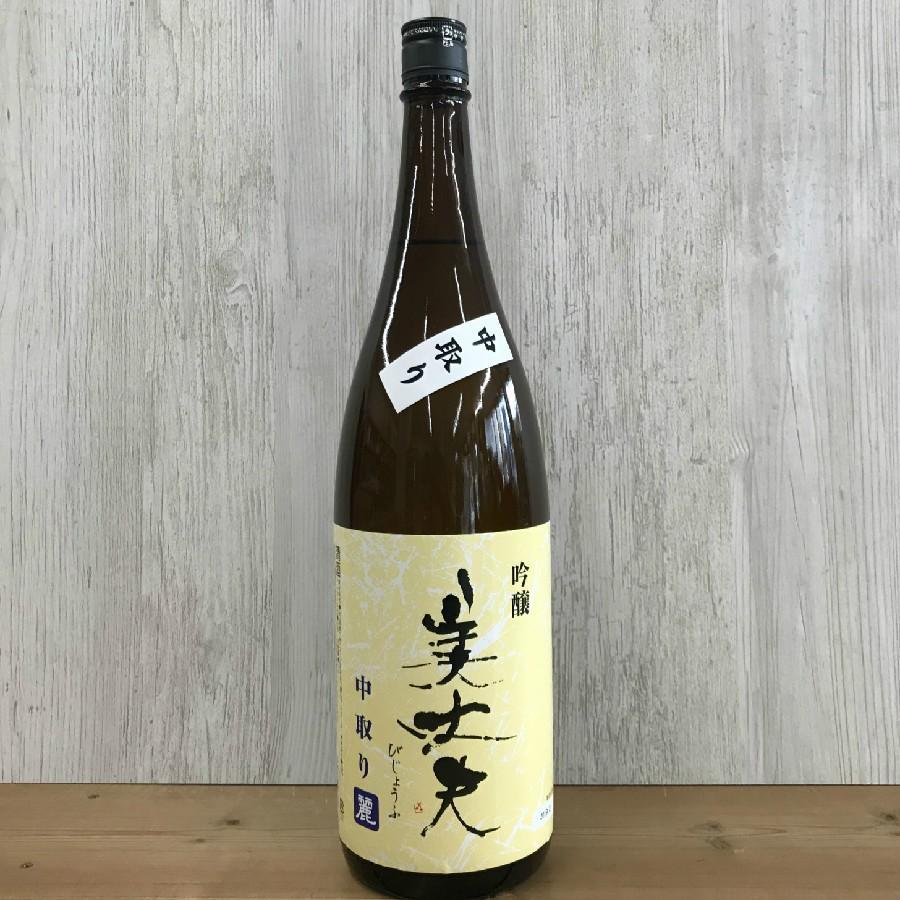 日本酒 高知 美丈夫 吟醸 麗 中取り 1800ml (新特 )|igossou-sakaya|02