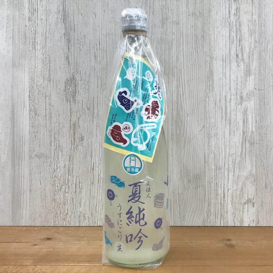 日本酒 高知 文佳人 夏純吟うすにごり 生 720ml 単品 (summer)(おばけ) igossou-sakaya 03
