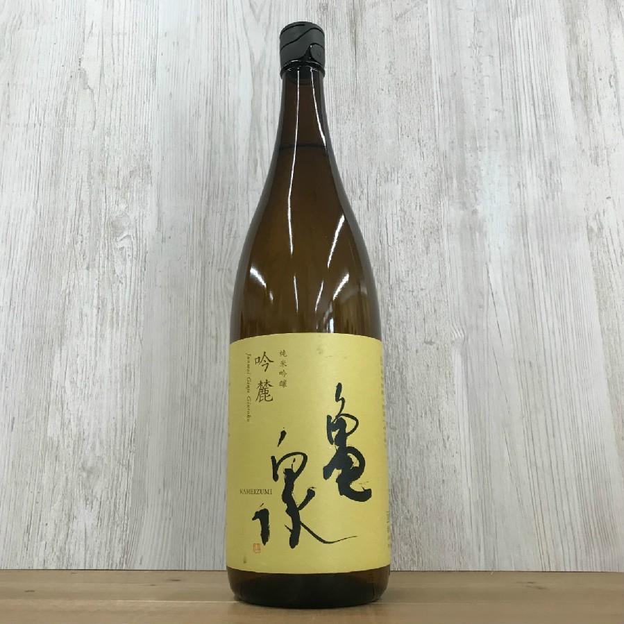 日本酒 高知 亀泉 純米吟醸 吟麓  ーぎんろくー 1800ml (お歳暮 冬ギフト お年賀)|igossou-sakaya|05
