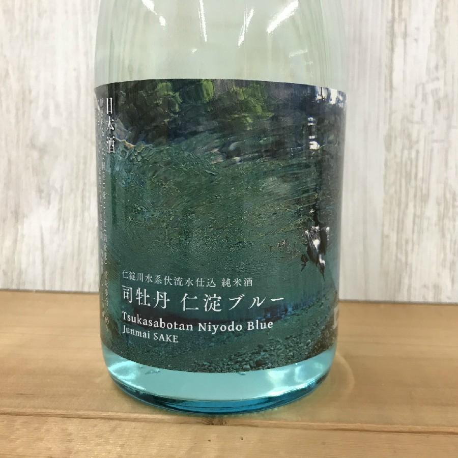 日本酒 高知 司牡丹 純米仁淀ブルー 720ml|igossou-sakaya|01