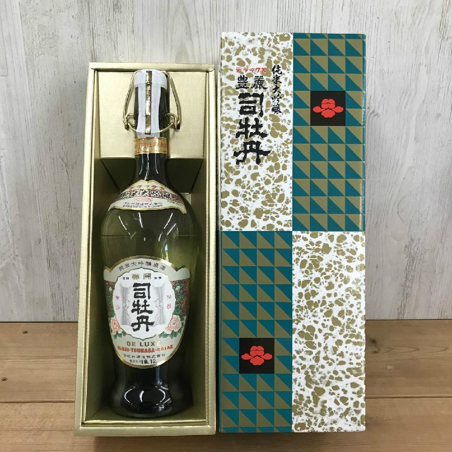 日本酒 高知 デラックス豊麗司牡丹 900ml お中元 夏ギフト|igossou-sakaya|02