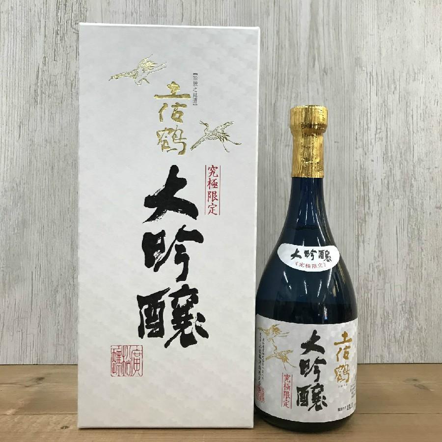 日本酒 高知 土佐鶴 大吟醸原酒 究極限定土佐鶴 720ml (父の日) お中元 夏ギフト|igossou-sakaya