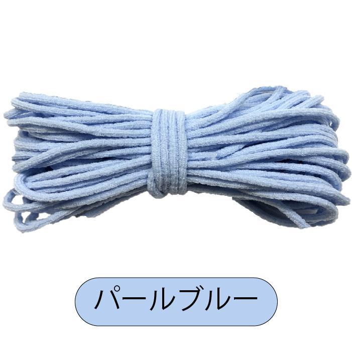 マスク用ゴム 単色 約2mm〜3mm 約10m|iguchi-co-ltd|25