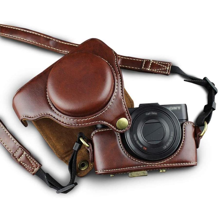カメラケース Cyber-shot RX100 M2 M3 M4 M5 カメラバック ミラーレス一眼 DCS-RX100シリーズ DSC-RX100M ihatov2020