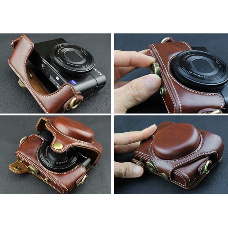 カメラケース Cyber-shot RX100 M2 M3 M4 M5 カメラバック ミラーレス一眼 DCS-RX100シリーズ DSC-RX100M ihatov2020 03