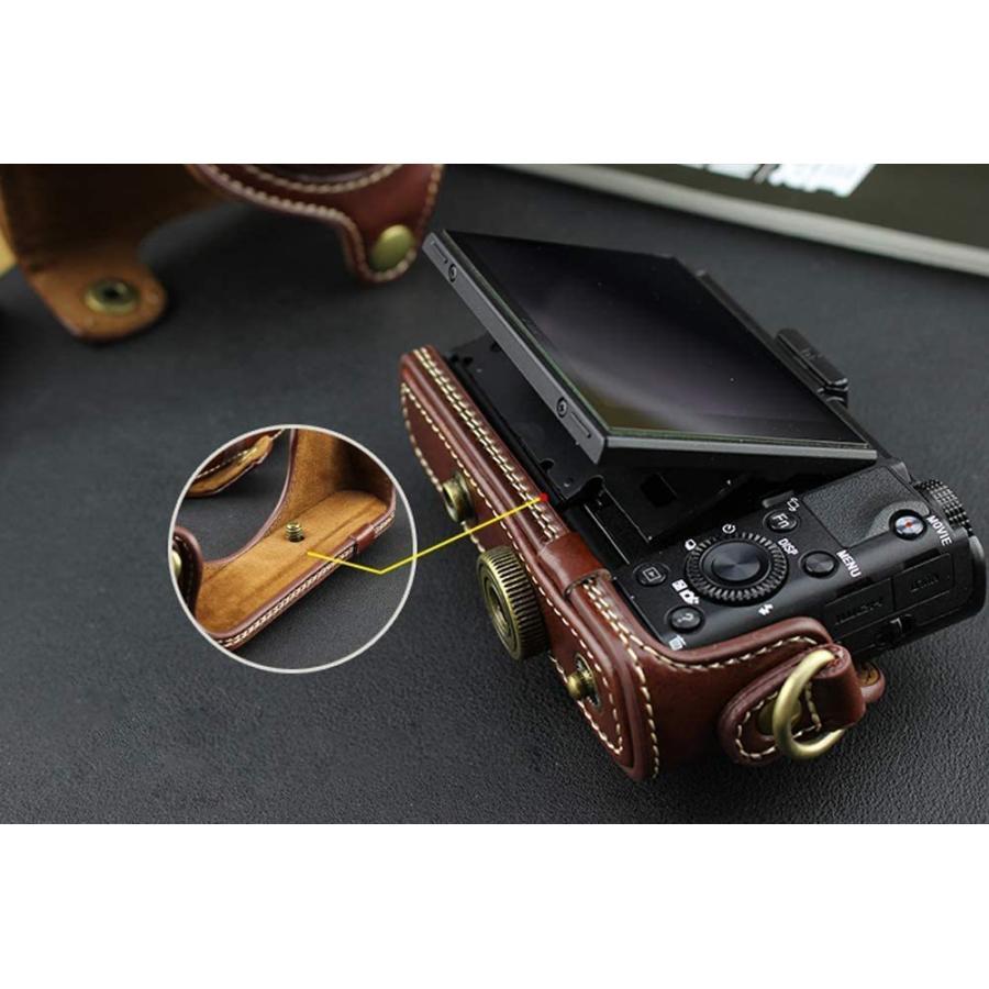 カメラケース Cyber-shot RX100 M2 M3 M4 M5 カメラバック ミラーレス一眼 DCS-RX100シリーズ DSC-RX100M ihatov2020 07