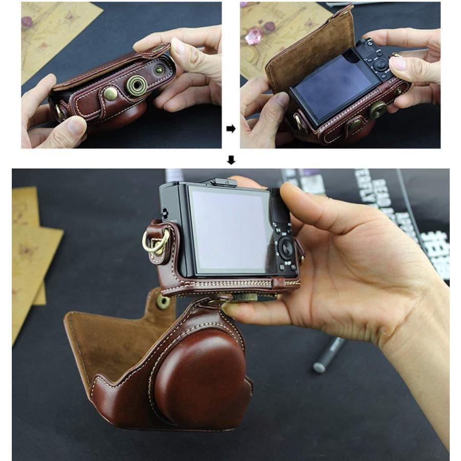 カメラケース Cyber-shot RX100 M2 M3 M4 M5 カメラバック ミラーレス一眼 DCS-RX100シリーズ DSC-RX100M ihatov2020 08