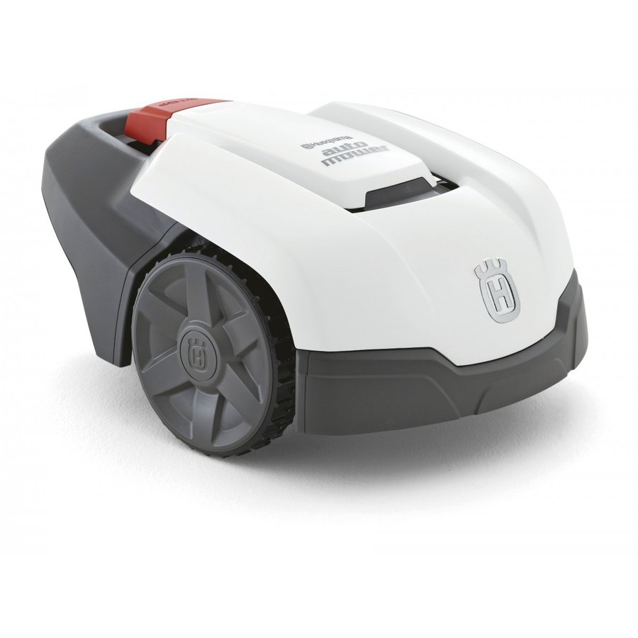 ロボット芝刈り機 ハスクバーナオートモア 105(キットM付き) ホワイトボディ