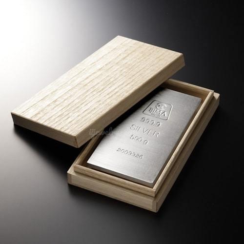 純銀 インゴット 500g 延べ板 シルバーバー :bipj-45:ジュエリー通販 ...