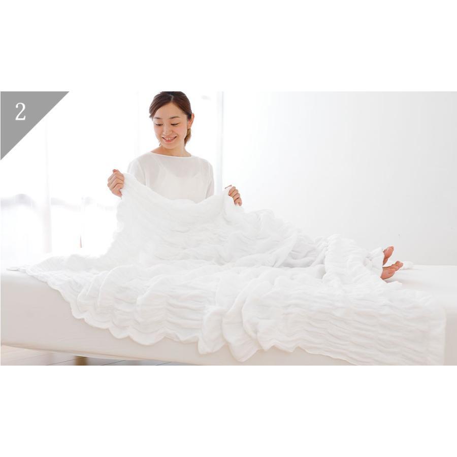 タオルケット シングル iimin 今治くるまるタオルケット おしゃれ ふんわり 綿100%|iimin|07