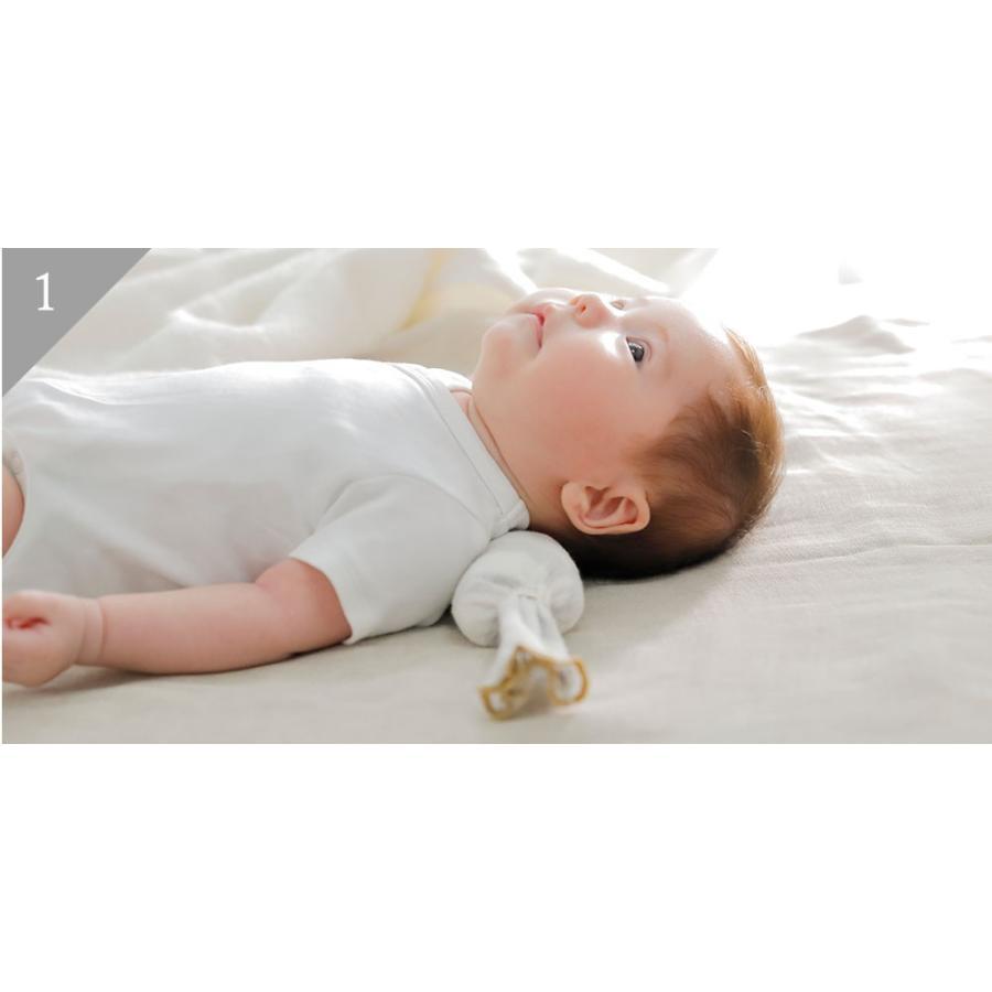 ベビー枕 iimin ベビーピロー キャンディータイプ 新生児の首元をしっかり支える ベビー用品 おしゃれなプレゼント|iimin|05