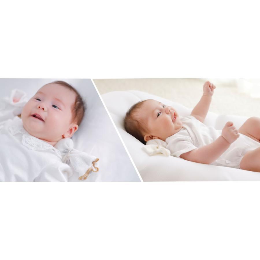 ベビー枕 iimin ベビーピロー キャンディータイプ 新生児の首元をしっかり支える ベビー用品 おしゃれなプレゼント|iimin|07