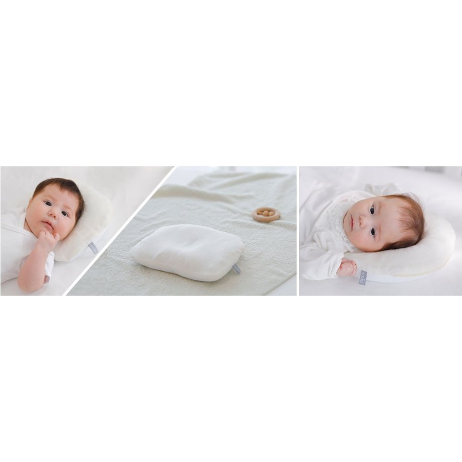 iimin ベビーピロー プレミアム 赤ちゃんの頭の形、安眠と寝心地にもこだわった枕 約 幅21×長さ27cm|iimin|02