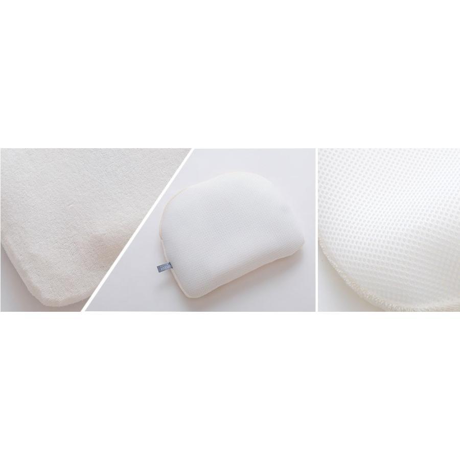 iimin ベビーピロー プレミアム 赤ちゃんの頭の形、安眠と寝心地にもこだわった枕 約 幅21×長さ27cm|iimin|09