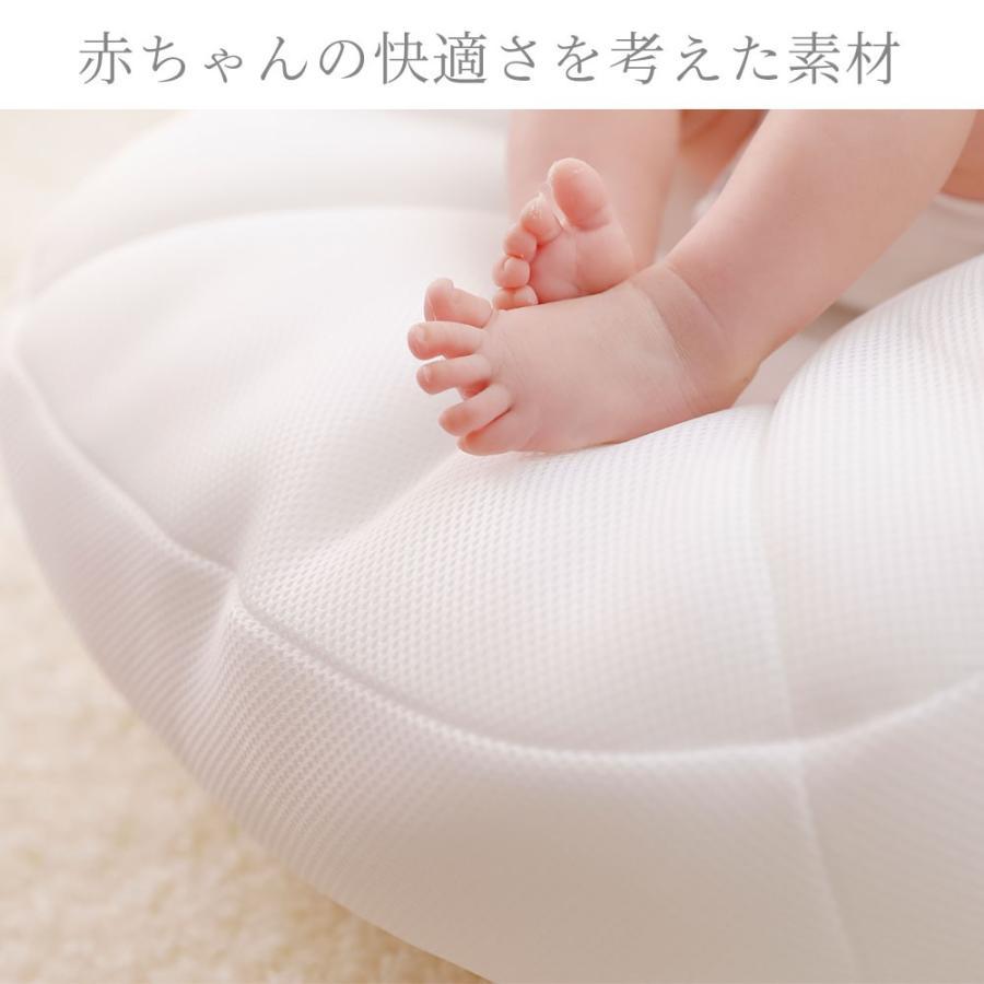 iimin Cカーブベビーベッド 赤ちゃんが安心する姿勢を保つベビーベッド まるで抱っこされているような感覚で眠れる|iimin|06
