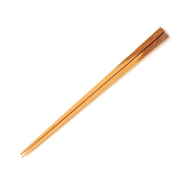 弘前の桜の木の角箸【青森県弘前市/桜の木/平らなデザイン/世界に一つだけ/木村木品製作所】|iimono-ippai