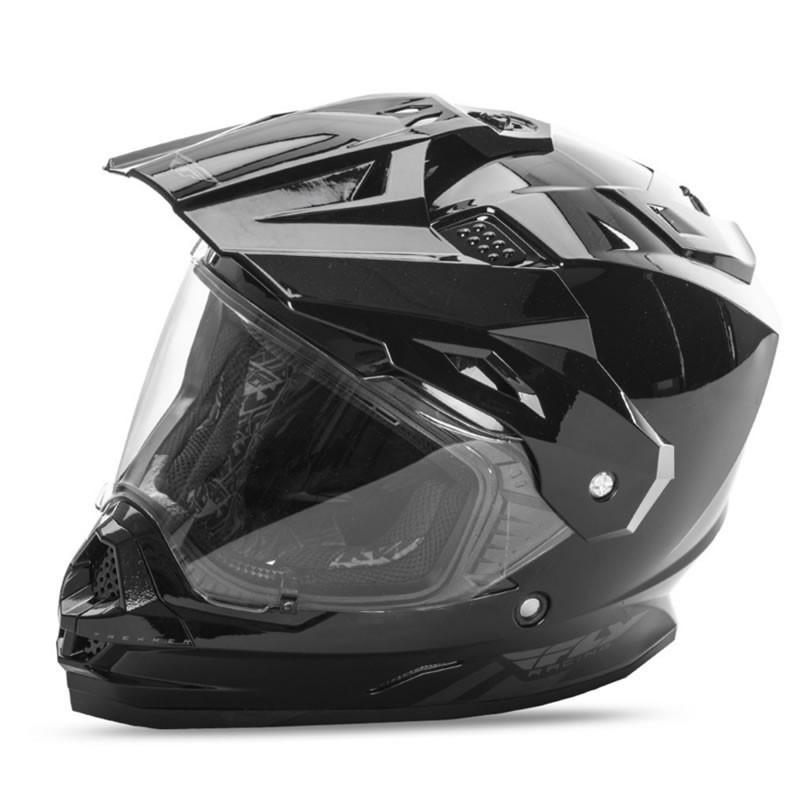 送料無料 FLY RACING TREKKER フライ トレッカー ヘルメット BLACK 2XL PSCマーク付き正規輸入品|iimono-ya