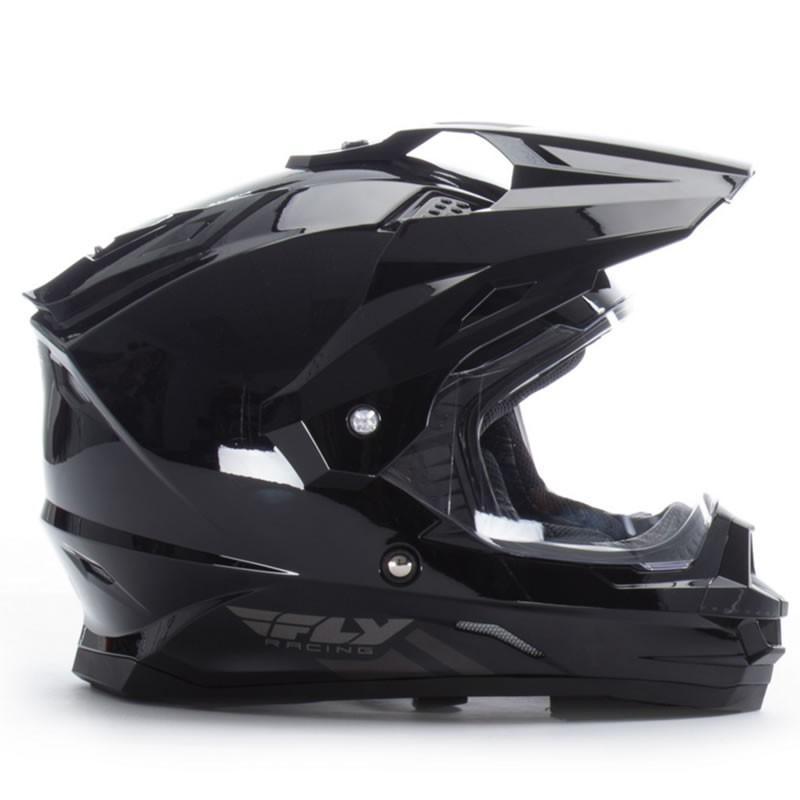 送料無料 FLY RACING TREKKER フライ トレッカー ヘルメット BLACK 2XL PSCマーク付き正規輸入品|iimono-ya|02