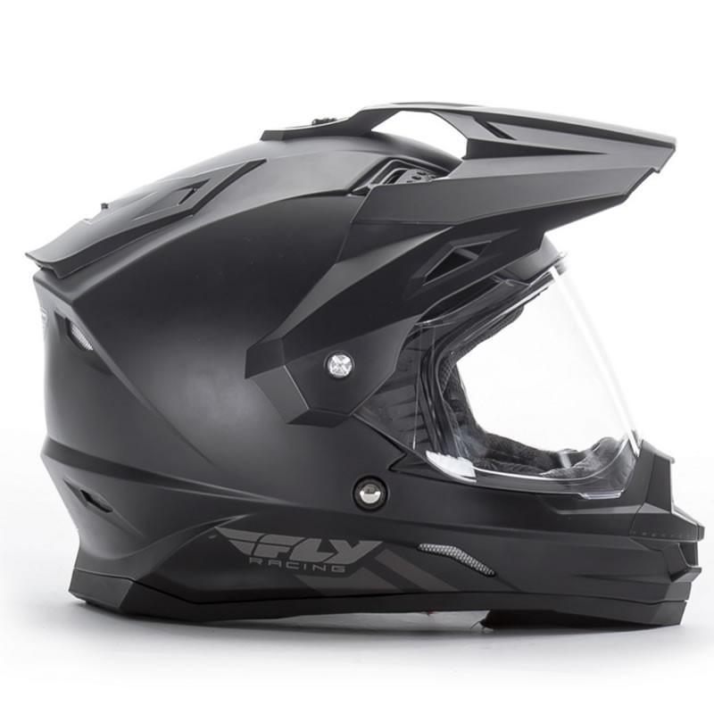 送料無料 FLY RACING TREKKER フライ トレッカー ヘルメット MATT BLACK M PSCマーク付き正規輸入品|iimono-ya|02