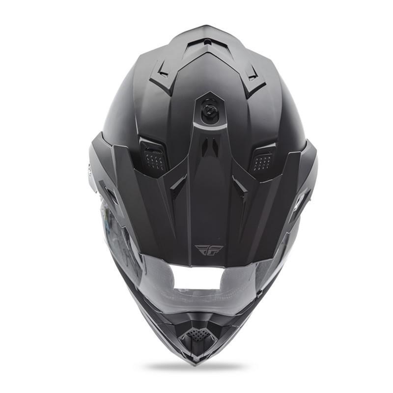 送料無料 FLY RACING TREKKER フライ トレッカー ヘルメット MATT BLACK M PSCマーク付き正規輸入品|iimono-ya|03