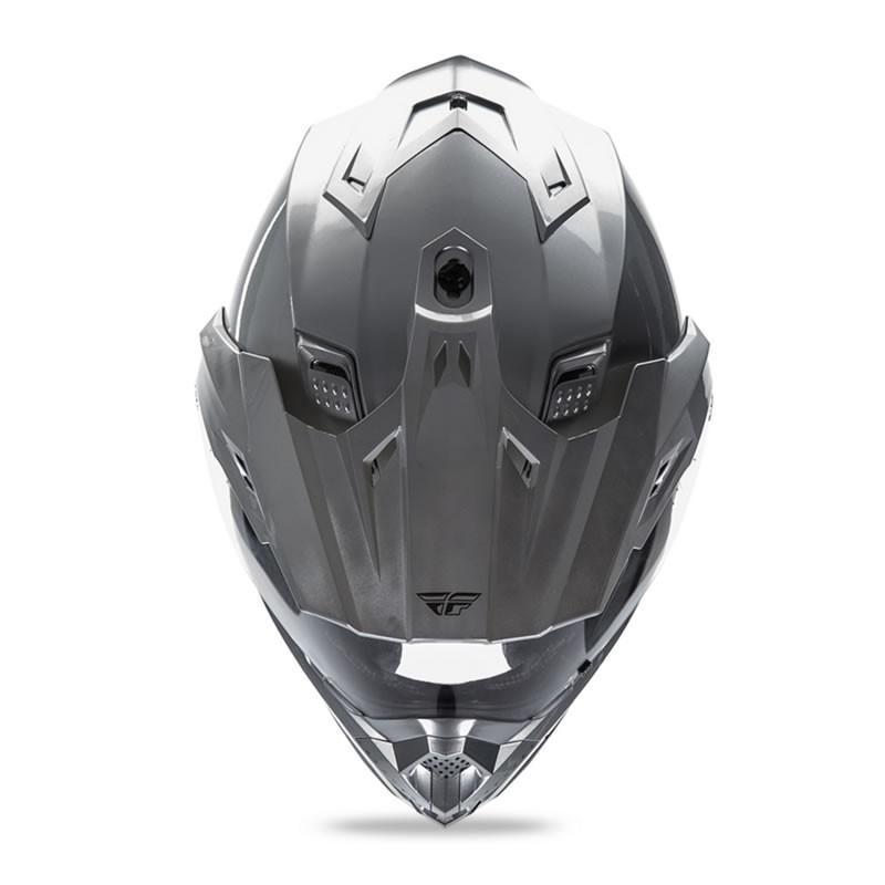 送料無料 FLY RACING TREKKER フライ トレッカー ヘルメット SILVER L PSCマーク付き正規輸入品 iimono-ya 03