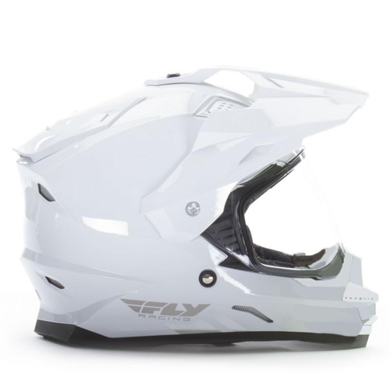 送料無料 FLY RACING TREKKER フライ トレッカー ヘルメット WHITE 2XL PSCマーク付き正規輸入品|iimono-ya|02