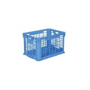 (代引き不可、同梱不可)三甲 サンコー サンテナー B400 ブルー 128001