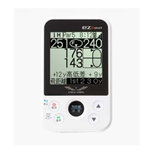 GPSゴルフナビ 距離計測器 イーグルビジョン イージープラス3 イーグルヴィジョン EAGLE VISION ez plus3 EV-818
