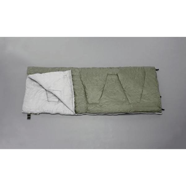ESCO 寝袋 900x2100mm シュラフ (OD色) EA915DB-8  キャンプ アウトドア 収納袋付